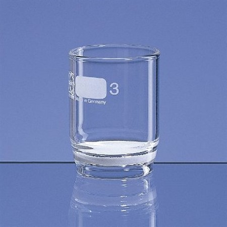 Filter Crucible, 50ml, Porosity 3