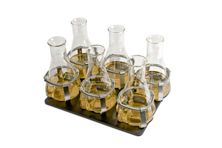 Platform for flasks, up to 250 - 300 ml (6 places)